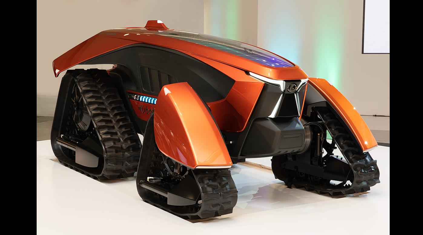 クボタ:コンセプトトラクター