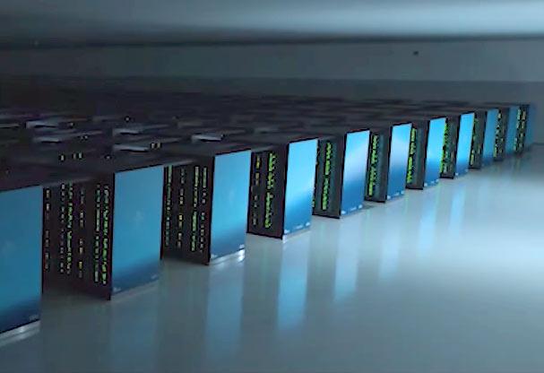 スーパーコンピュータ「富岳(ふがく)」