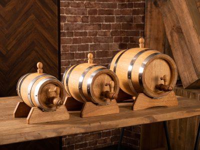 1L、2L、3L、熟成樽、オーク樽、スパニッシュオーク