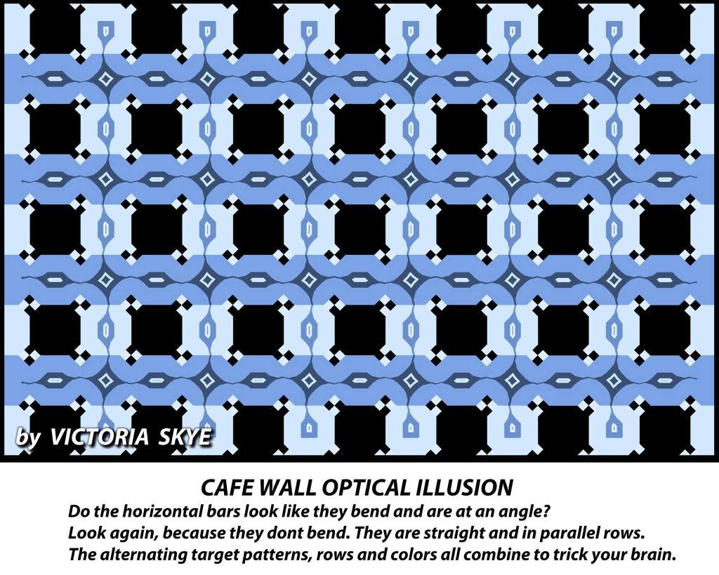 錯視の画像